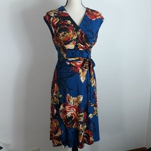 Evan Picone wrap style dress.. size 12